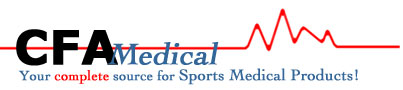 CFA Medical. Your complete source for Sports Medical Products!