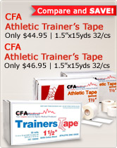 CFA Athletic Trainer's Tape