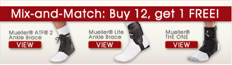 Mueller Ankle Brace Promo