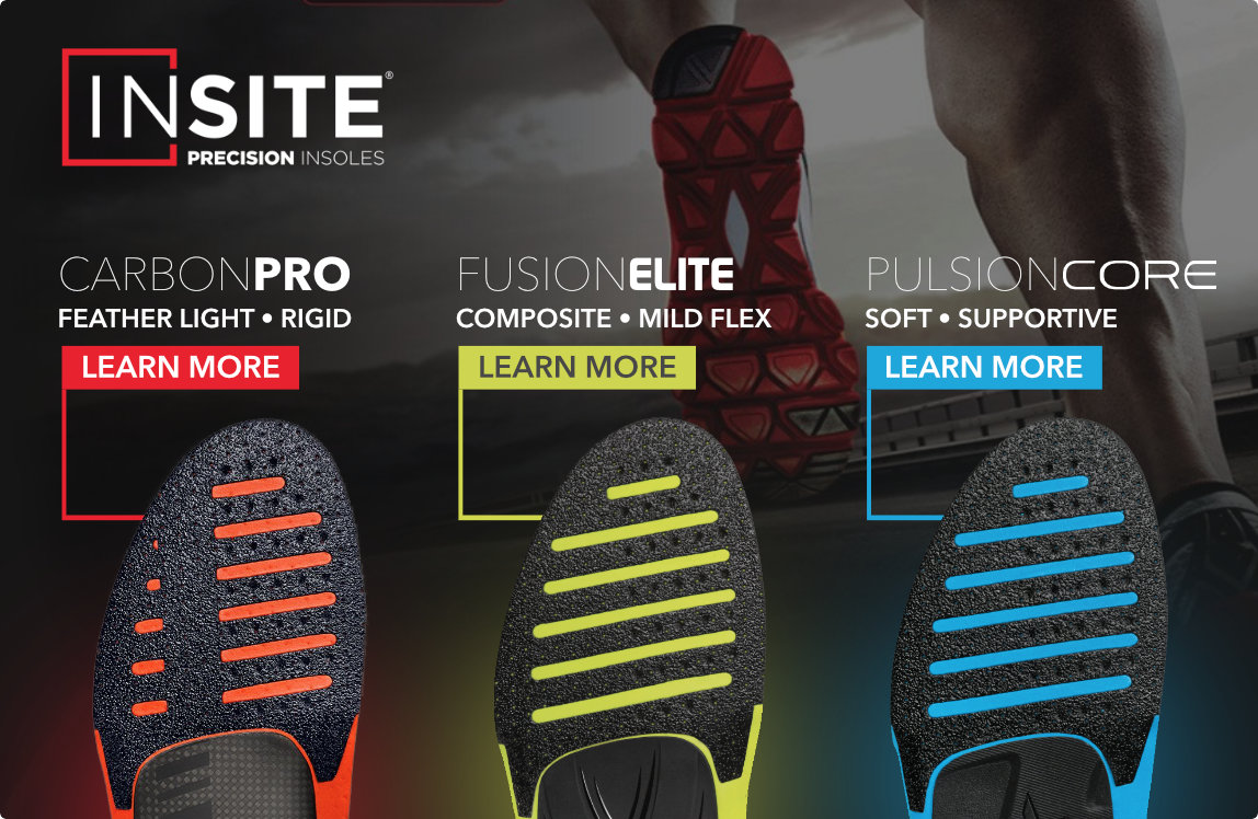 Insite Precision Insoles - Carbon Pro, Fusion Elite, Pulsion Core