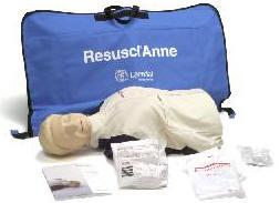 CFA Medical :: Resusci  Anne Torso Basic (with Soft Pack/Training Mat)